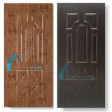 Хорошее качество HDF меламина бумаги панели двери из шпона кожи