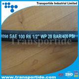 """1/4 """" Stab-hydraulischer Gummischlauch SAE-J517 100 R1 W.P. 225 für hydraulisches Gerät"""