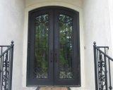Austrália Material de aço inoxidável padrão Portas e janelas de ferro forjado