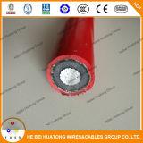 Cable de transmisión de Alulminum de la base del voltaje medio de Na2xsy solo 12/20kv 18/30kv