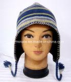 Шлем Beanie зимы шлема способа связанный Earflap (Hjb033)