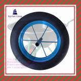 3.00-8, 3.25-8, 3.50-8, 400-6, 4.00-8, rotella eccellente della gomma piuma dell'unità di elaborazione di lunga vita di qualità