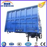 バルク貨物輸送のための3つの車軸側面またはサイドウォールまたは塀のトラックのトレーラー