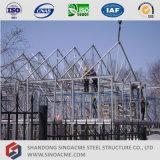 Casa Prefab clara da construção de aço em Rússia