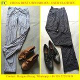 A roupa usada, usada veste-se, roupa da segunda mão para o mercado africano (FCD-002)