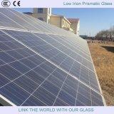 el vidrio prismático del hierro inferior de 4m m/templó el vidrio de flotador inferior del hierro