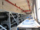 Röhrenbandförderer mit staubdichtem, wasserdicht