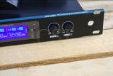 Профессиональная четырехканальная система микрофона UHF беспроволочная