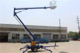 2016 China, la lámpara de calle Mantenimiento remolcable remolcada Plataforma Elevadora