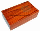 Роскошная лоснистая деревянная коробка подарка хранения/представления вина