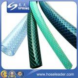 Mangueira de jardim flexível do PVC com fibra reforçada