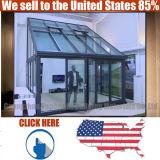 미끄러지는 최고 가격 Frameless 판매를 위한 안쪽 문을 겹쳐 쌓이기