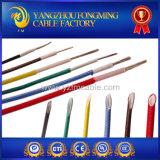 200 DEG C estanharam o fio de cobre da trança da fibra de vidro do silicone do revestimento