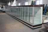 Multideck vitrines frigorifiques avec porte de verre
