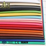 Cuoio della tappezzeria per il cuoio dello Synthetic di prezzi competitivi dei sacchetti di mano dei pattini