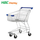 Kundenspezifische Supermarkt-Laufkatze und Verbrauchergrossmarkt-Karre