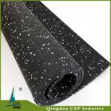 Installation facile 8mm Gym Fitness Floor / Rubber Floor