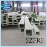 Le PRF/GRP/Rectangle Pultruded tube en fibre de verre
