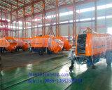 Uitstekende kwaliteit! De Concrete Pomp van de dieselmotor/de Concrete Pomp van de Aanhangwagen met Certificatie Ce&ISO&BV!