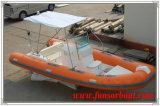 Yacht gonfiabile marino di Funsor per pesca (RIB-580)
