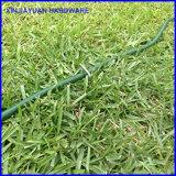 """De Omheining van het Metaal van het gras niet Kunstmatige Lengte 11 van de Nietjes van het Gras van het Type van U """""""