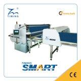 Máquina de extensión del CNC de la tela con el dispositivo auto del corte del paño