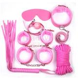 Sex Bondage Kit Set 7PCS Sexe Sexe Jeu Système de retenue de lit de jouet Sexy Fetish Fetish Erotique