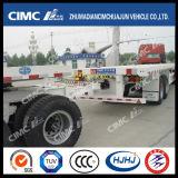 Cimcトロッコのトレーラーが付いているHuajunのトレーラーのトレイン