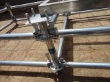 電流を通された鋼管の層の段階