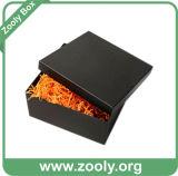 Черный квадрат картона подарочная упаковка бумаги с крышкой