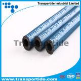 Boyau en caoutchouc hydraulique tressé d'acier inoxydable de R2/2sn pour l'exploitation