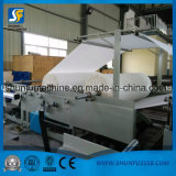 Rollo de papel higiénico de equipos de procesamiento de la máquina de rebobinar un pañuelo de papel que hace la máquina