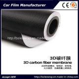 3D Auto из углеродного волокна Car Wrap виниловая пленка