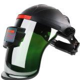 Verde Escuro capacete de soldagem que pode escurecer automaticamente