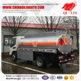 가솔린 다시 채우기를 위한 Q235-a 강철 플레이트 유조 트럭