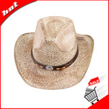 Chapéu de palha do vaqueiro do verão de Sun da palha da trança de papel