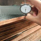Núcleo de madera de 18mm película enfrentó el contrachapado antideslizante resistente al agua para la construcción de encofrados