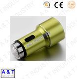 Kundenspezifische Messing-/rostfreier Stahl-Kupfer-Gang-drehenmaschinell bearbeitenmaschinerie-Ersatzteile