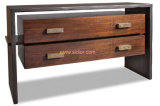 (CL-7706) El Hotel Restaurante de lujo de antiguos muebles de madera con mesa