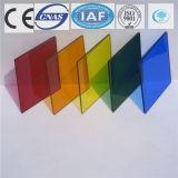 건물을%s 색을 칠하는 색깔 또는 공간 부유물 또는 부드럽게 한 사려깊은 유리