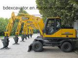 Máquina Catching 8.5ton da madeira/Sugarcane/palha com a cubeta 0.3cmb