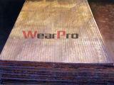 Piatto professionale del DUA con la piastrina di usura della sovrapposizione del carburo, utilizzata in attrezzatura mineraria