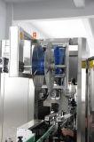 Máquina de etiquetado automática del encogimiento de la funda de la escritura de la etiqueta de la botella de la garantía global
