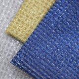 Couro sintético de couro artificial Shining do saco da bolsa do plutônio da faísca do Glitter