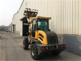 Jn916 Aprovado pela CE Radlader Agrícolas Mini pequeno carregadora de rodas