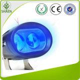 Luz azul impermeable del trabajo de 10W LED