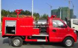 Vrachtwagen van de Motor van de Brand van het Water van Dongfeng de Mini4X2 2000 Vrachtwagen van de Brandbestrijding van L