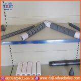 Elemento de aquecimento espiral dobro refratário do carboneto de silicone