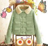 A Senhora Casaco Cotton-Padded estilo mais recente