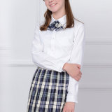 Uniforme scolaire personnalisé en coton, chemise uniforme en lycée